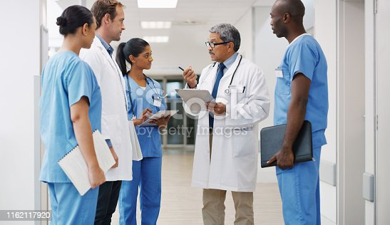 istock They're all trained and experienced to handle any medical matter 1162117920