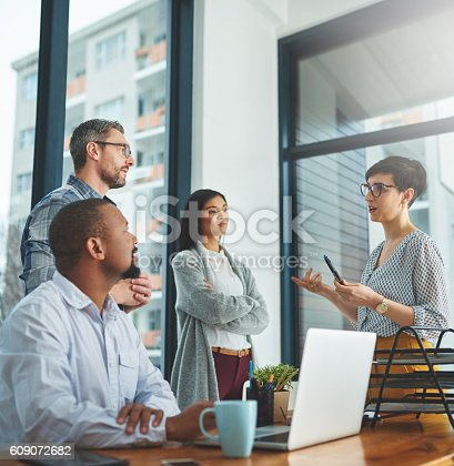 609072850 istock photo They're always coming up with the most innovative ideas 609072682