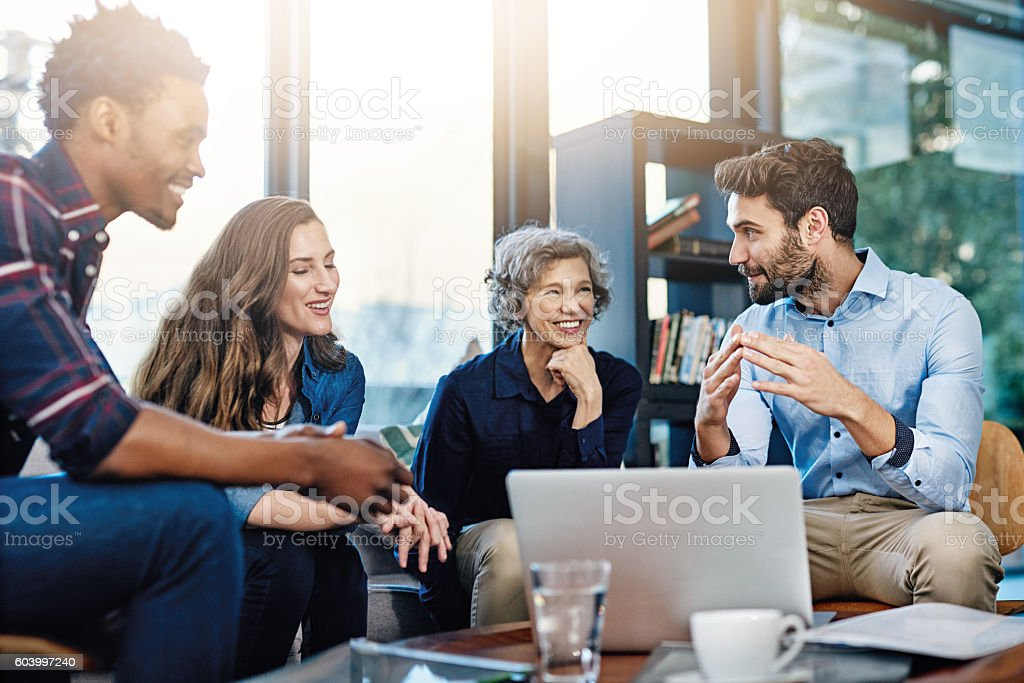 They're always performing at their best stock photo