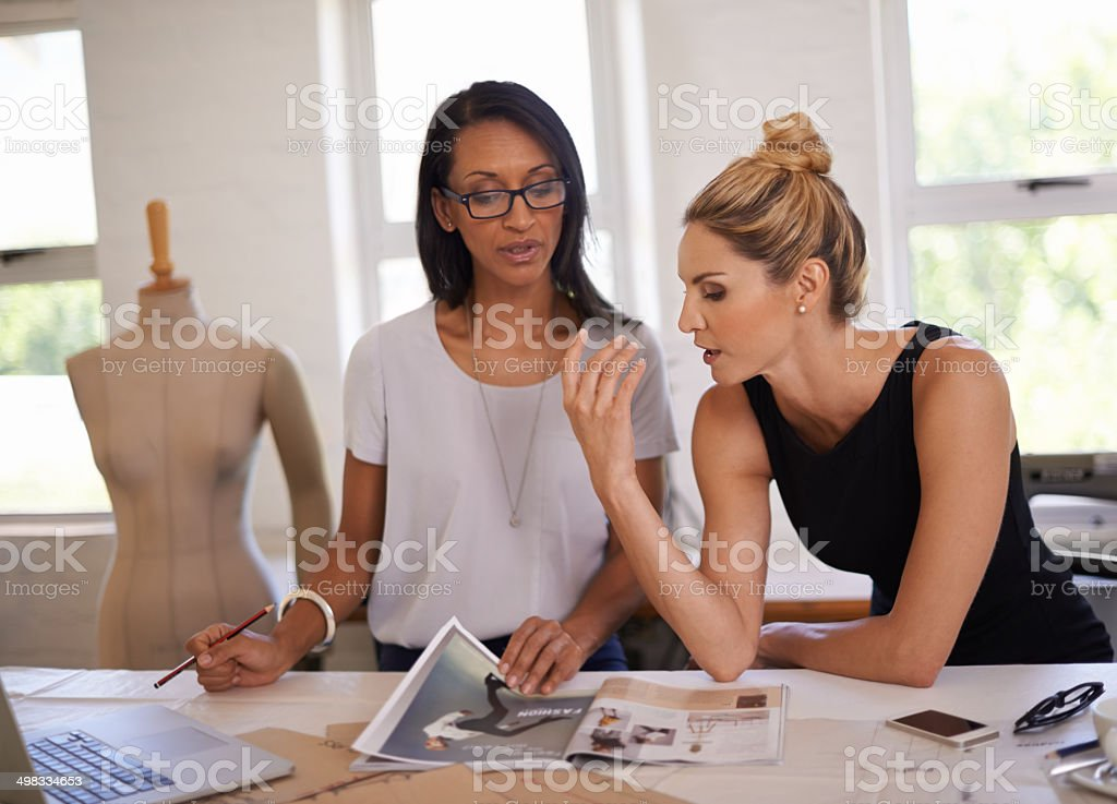 They're brimming with great ideas stock photo