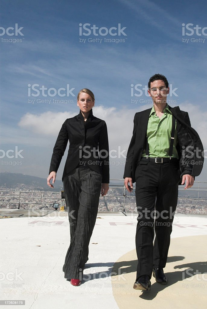 They're coming royalty-free stock photo