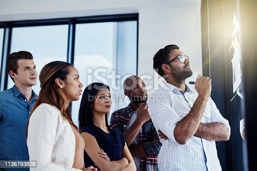 496441730istockphoto They're coming up with the perfect plan 1136793828