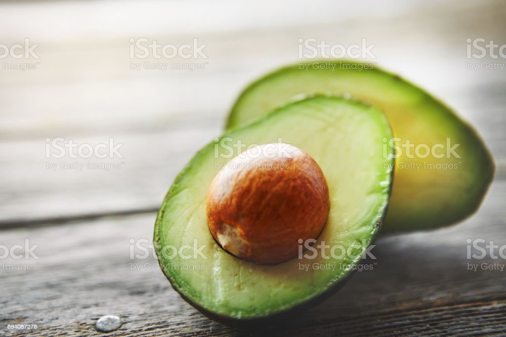 They're high in the healthy kind of fats stock photo