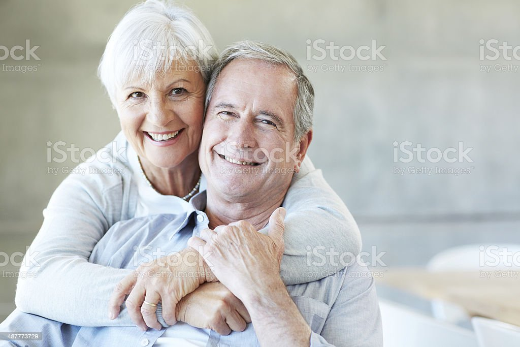 They're madly in love stock photo
