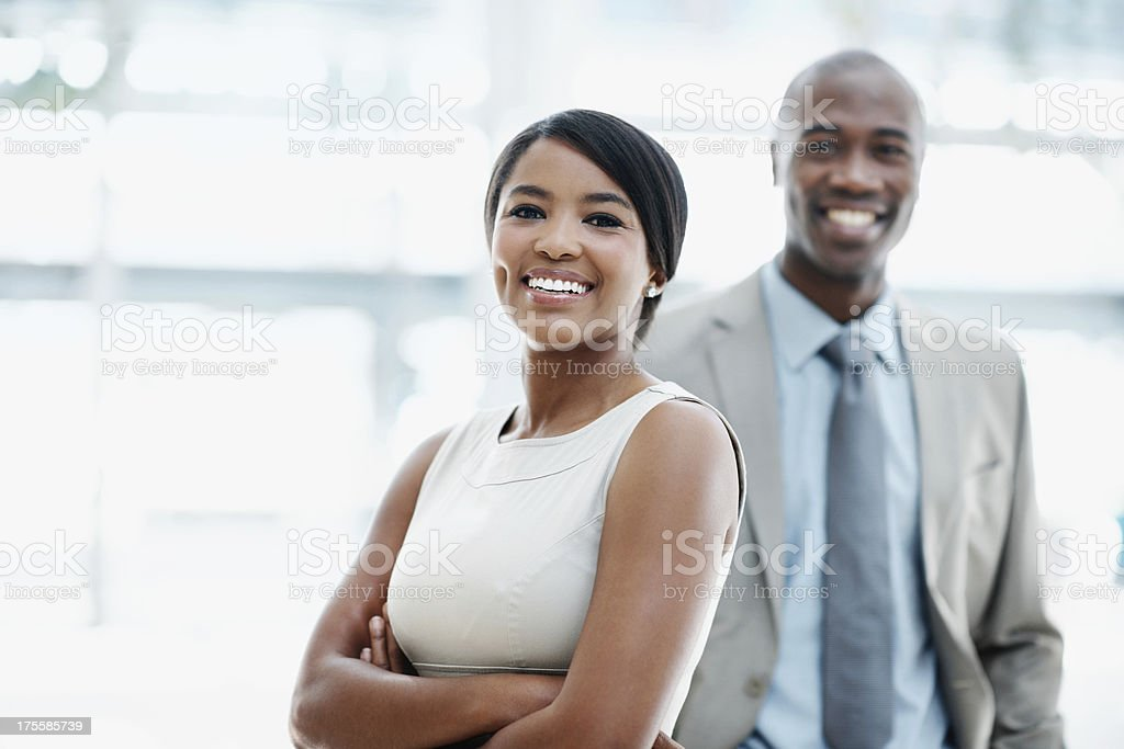 They're movers and shakers in the business world royalty-free stock photo