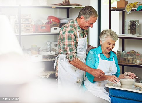 511679304 istock photo They're passionate about pottery 512692202