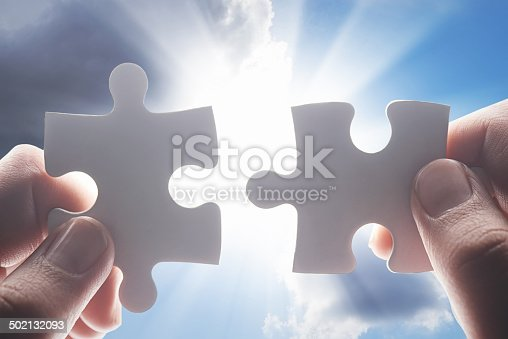 istock They're putting the final pieces together 502132093