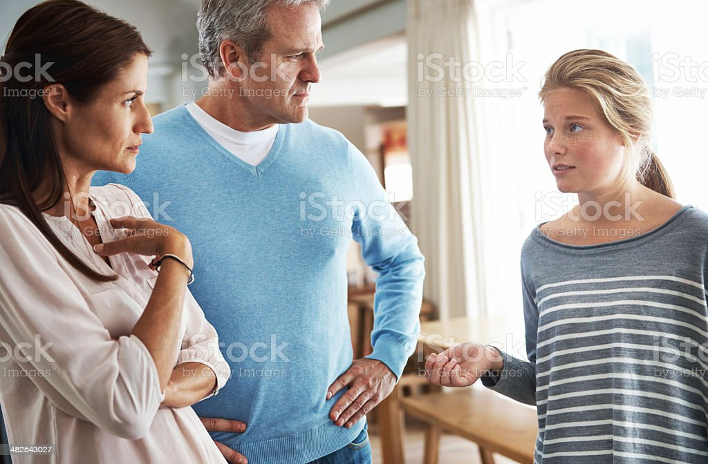 They're really not getting along at the moment... stock photo
