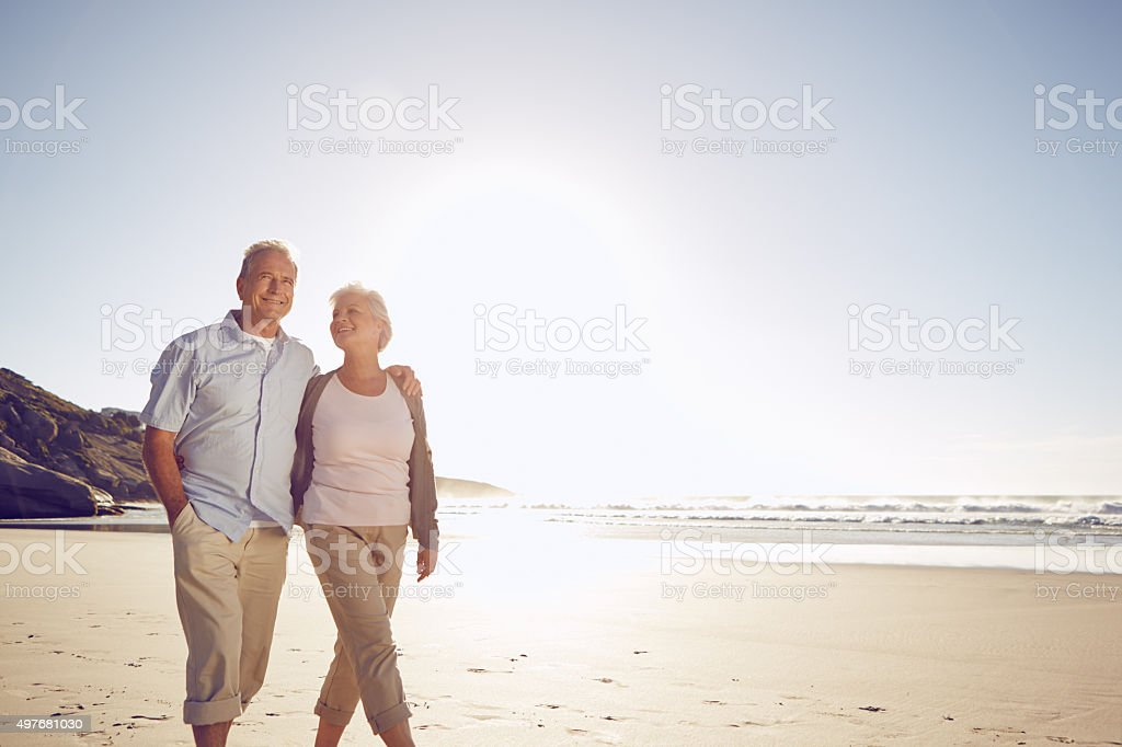They're so in love stock photo