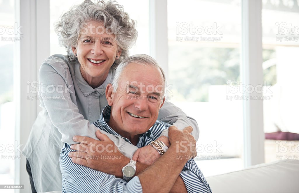 They're still crazy about each other stock photo