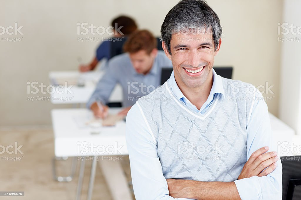 They're the hardest working team in this biz! royalty-free stock photo