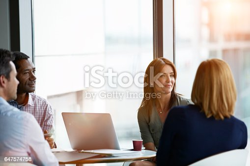 istock They're the perfect work group 647574758