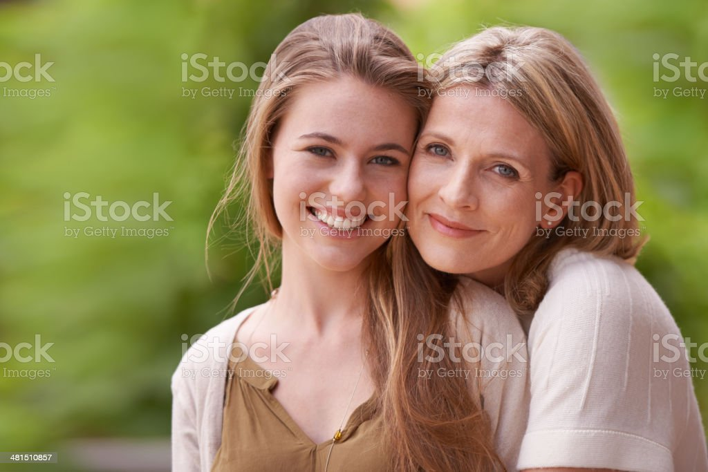 They've always been very close stock photo