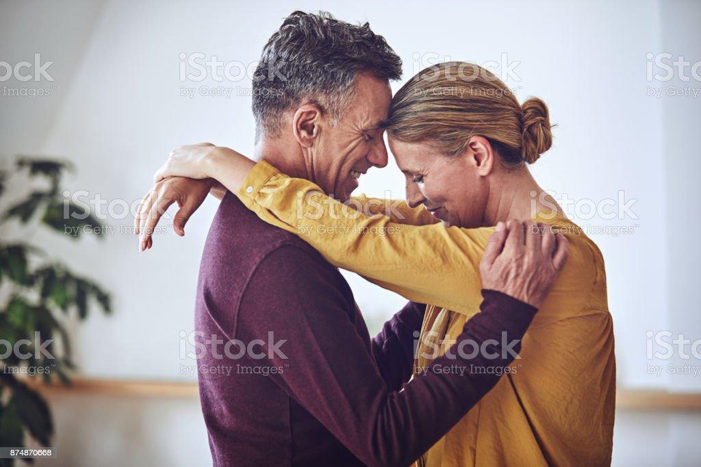 Sie haben ein schönes Leben zusammen gebaut. – Foto