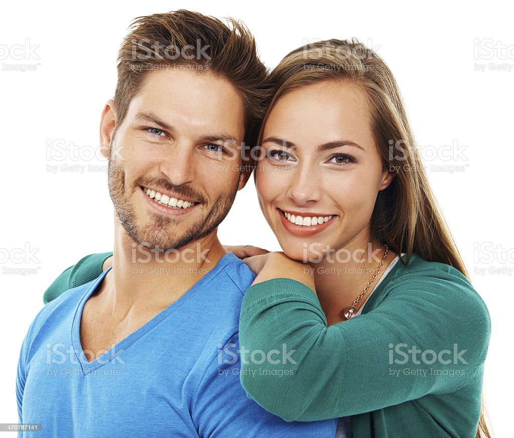They've found love together stock photo