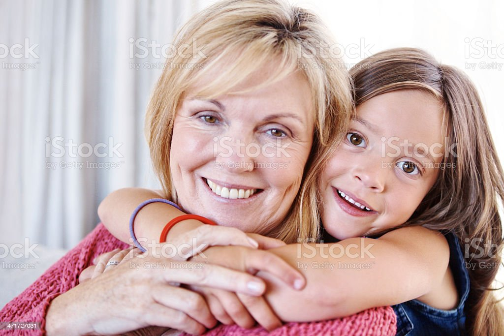 They've got a special bond royalty-free stock photo