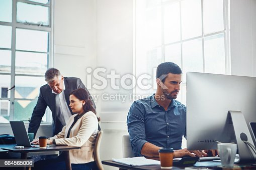 istock They've got all the attributes of a productive team 664565006