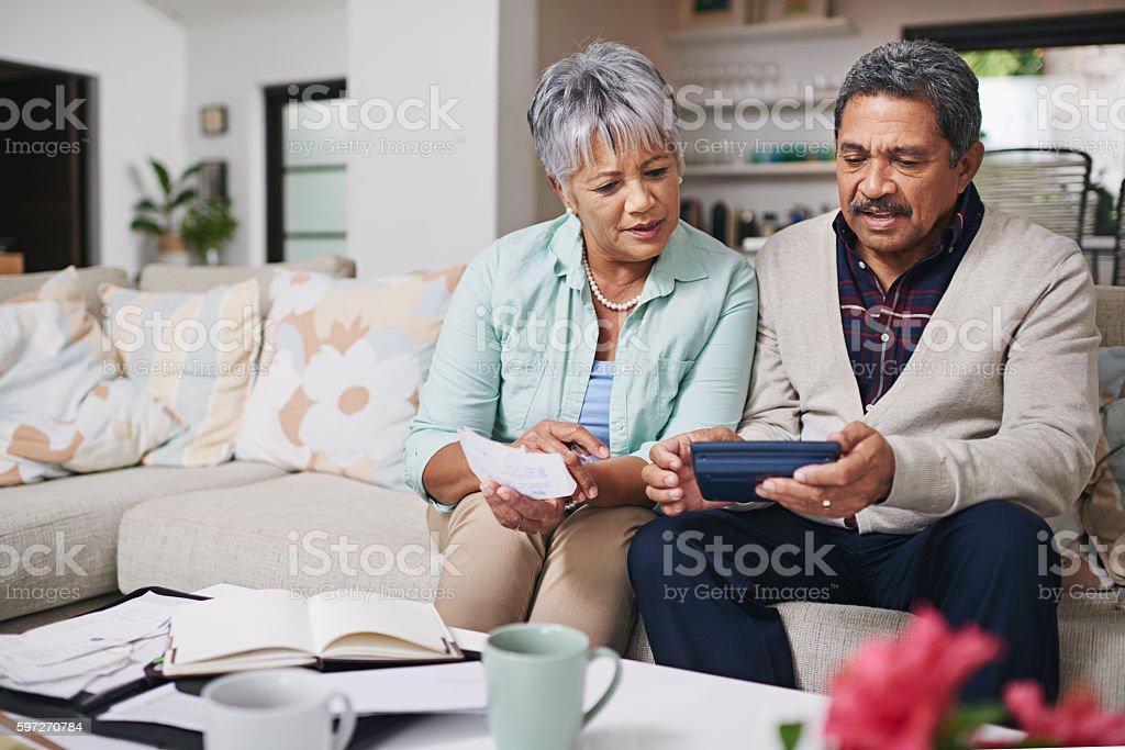 They've got budgeting down to an art Lizenzfreies stock-foto