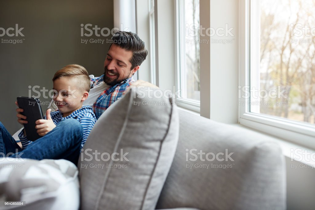They've got entertainment to last them all day long - Royalty-free Adult Stock Photo