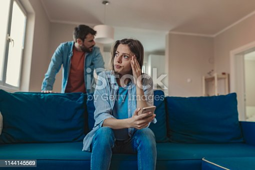 993706062 istock photo They've got frustrations and anger to vent at each other 1144145569