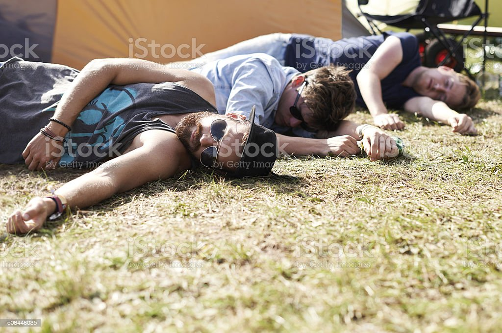 They've had one too many... stock photo