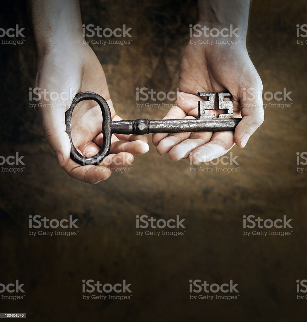 Thge Right Solution stock photo