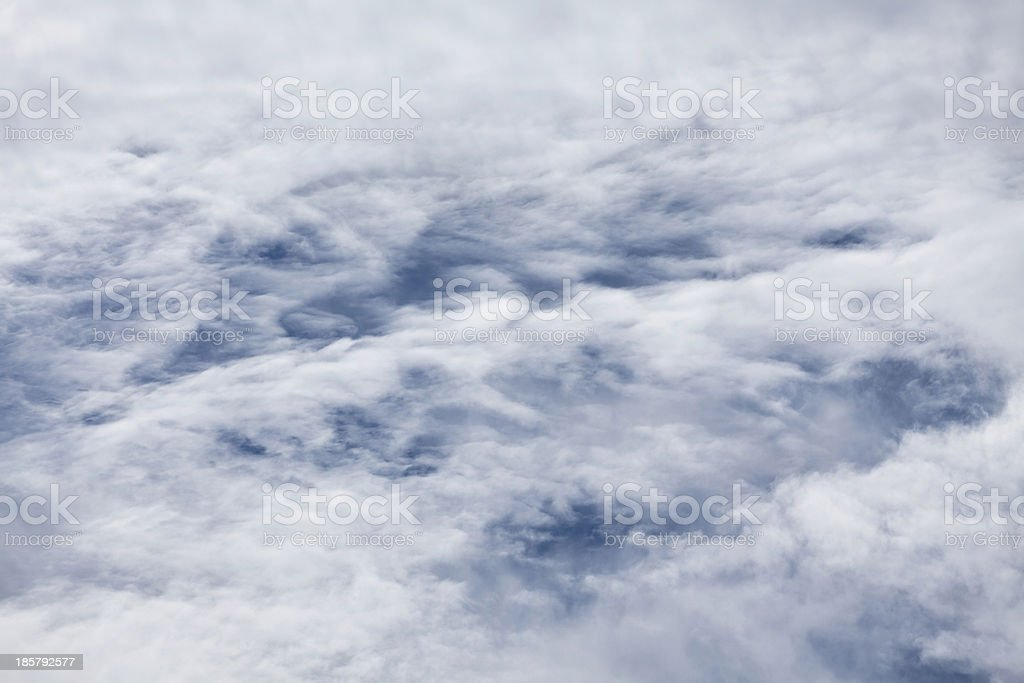 thick clouds royalty-free stock photo