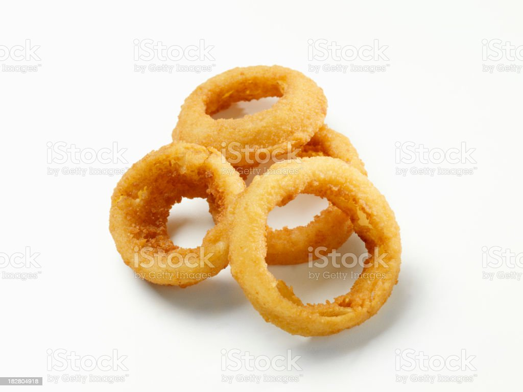 Thick Cut Onion Rings royalty-free stock photo