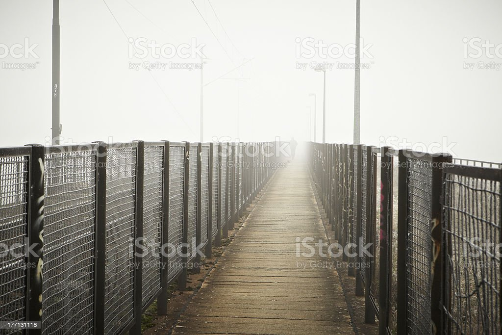 Thick fog royalty-free stock photo