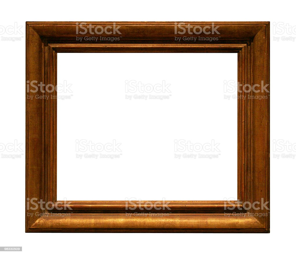 Thick frame to use in your design royalty-free stock photo