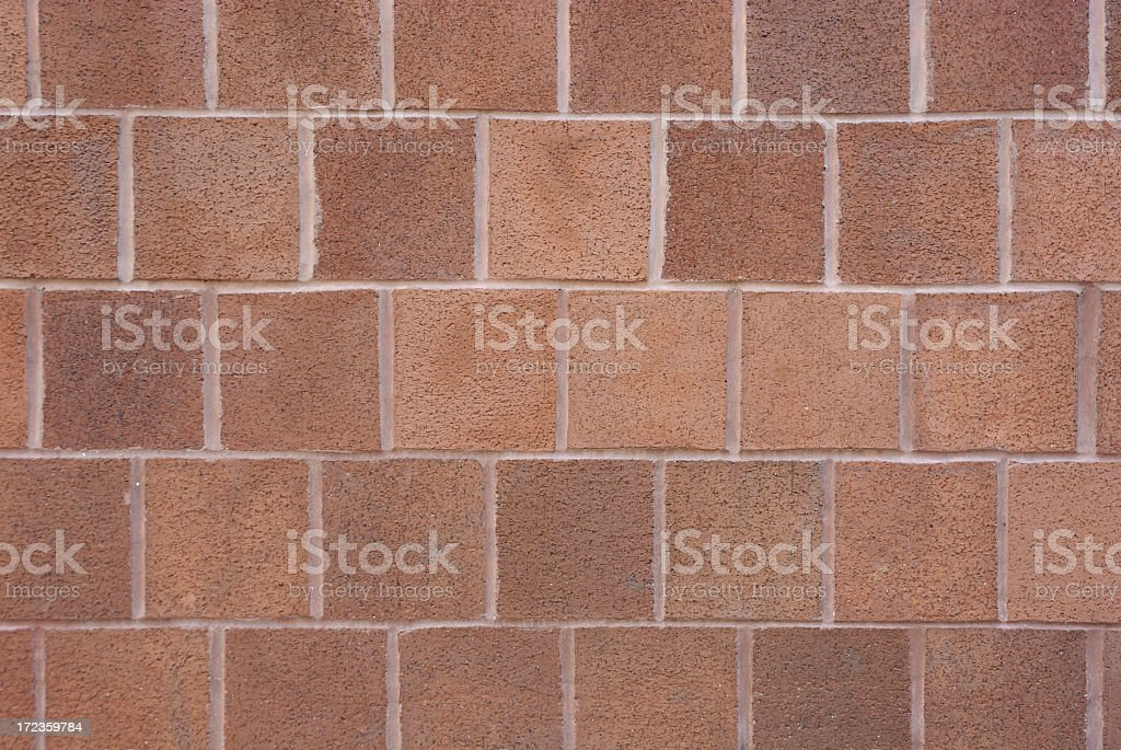 Thick Square Brick Background royalty-free stock photo