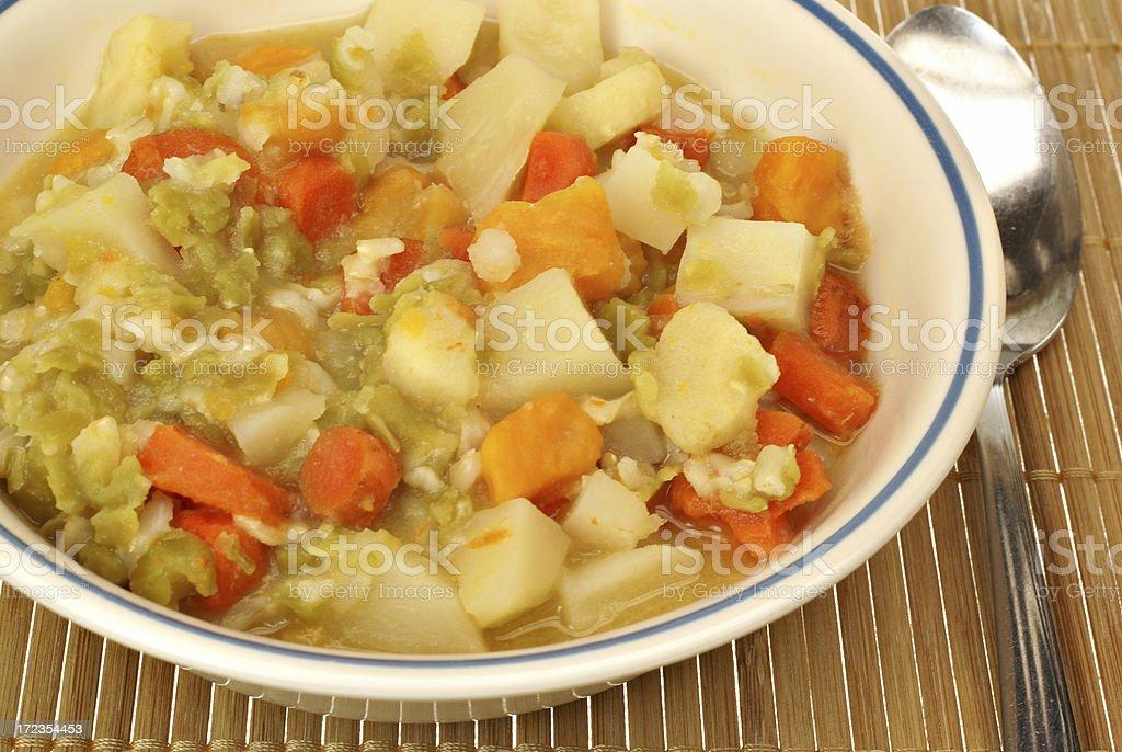 Vegetarianas sopa de espesor foto de stock libre de derechos