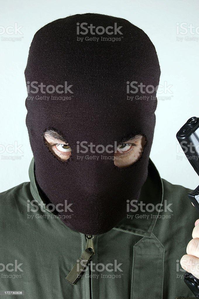 thief royalty-free stock photo