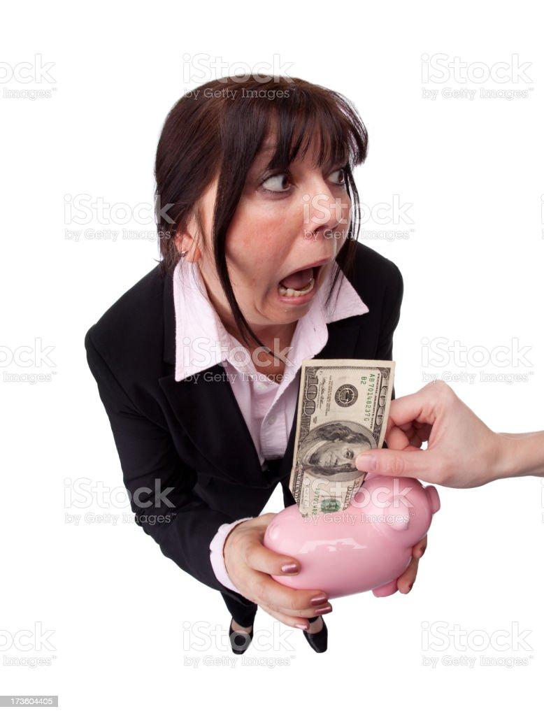 Thief! royalty-free stock photo