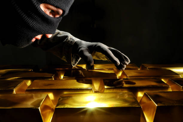 Thief Stealing Gold