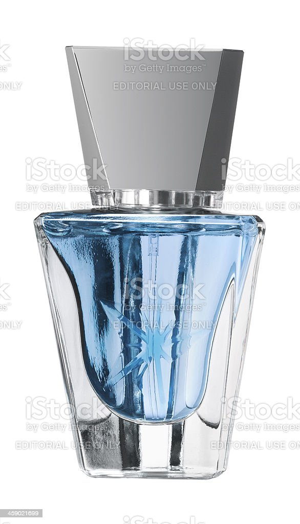 Thierry Mugler's Eau de star perfume royalty-free stock photo