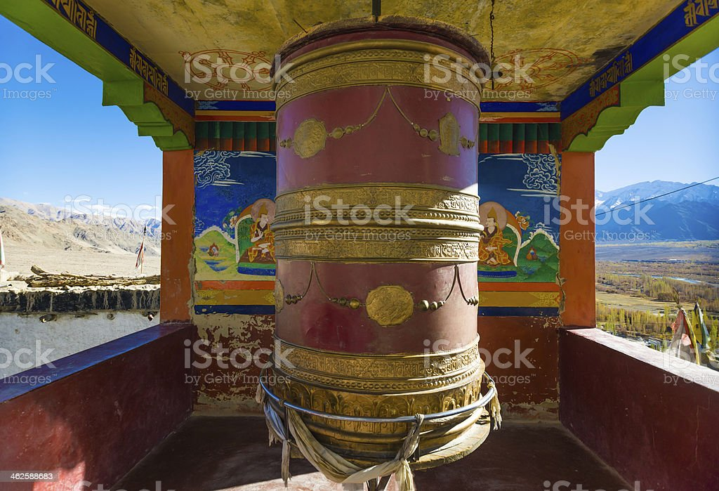 Thiksey Gompa in Ladakh, India. royalty-free stock photo