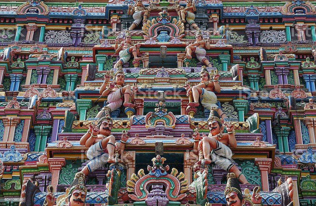 Thillai Natarajah Temple, Chidambaram, India stock photo
