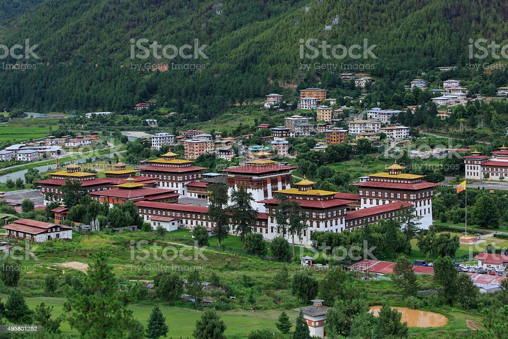 Thimphu, Bhutan stock photo