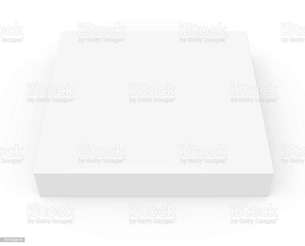 thin blank template box model photo libre de droits