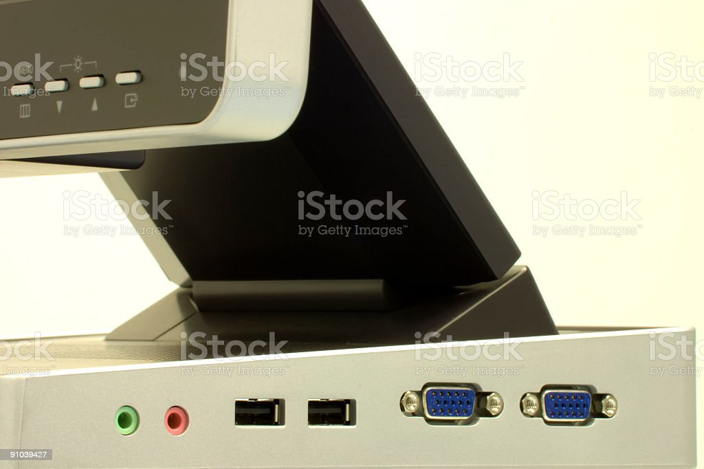 Thin Client royalty-free stock photo