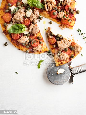 Pizza, Pastry Dough, Circle, Baked,Bakery,  Food, Italy