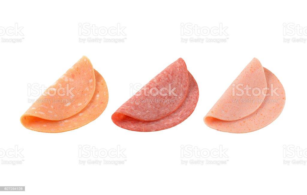 thin deli meat slices – Foto