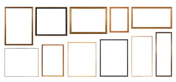 tunna tavelramar - frame bildbanksfoton och bilder