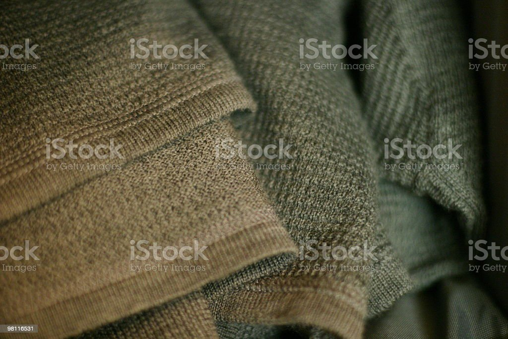 Thin Sweater Close Up royalty-free stock photo