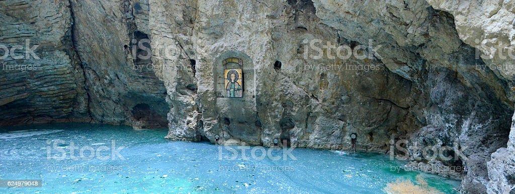 Things popular Caucasus city of Pyatigorsk stock photo