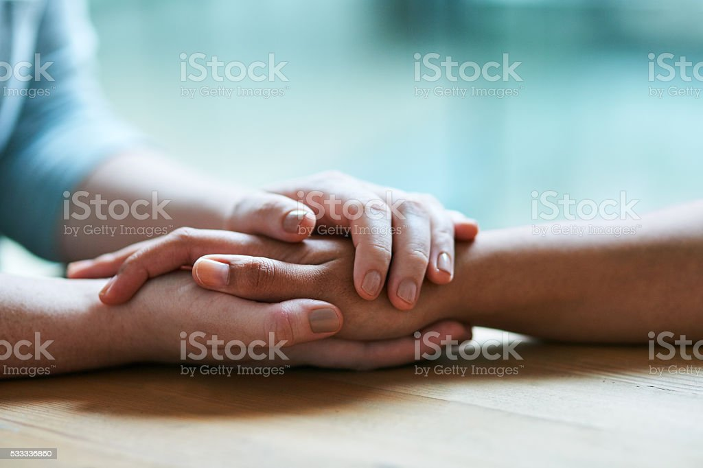 Things will get better stock photo