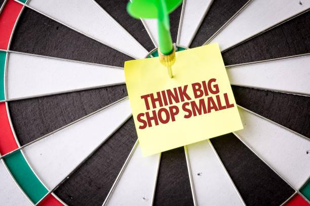 想想大店小 - small business saturday 個照片及圖片檔