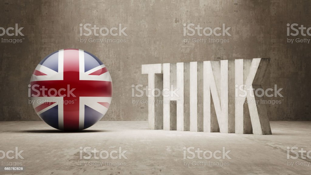 Think Concept royalty-free stock photo