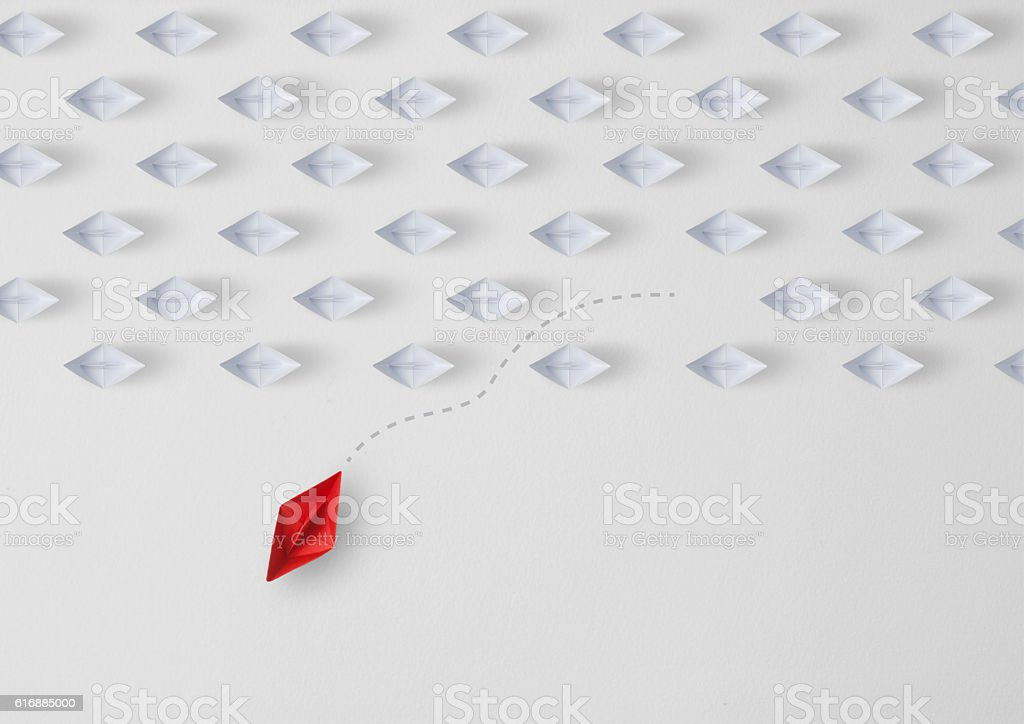 Think Difference Stock Photo - Download Image Now - iStock